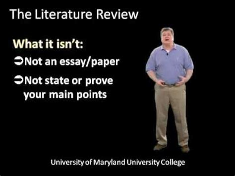 Academic Writing Literature Review Research Writing